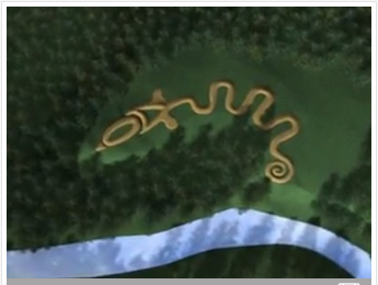 Serpent Mound, from AncientOhioTrail.com