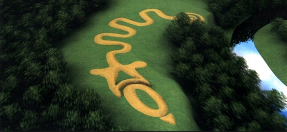 CERHAS rendering of Serpent Mound, from apps.ohiohistory.org