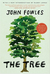 Cover of Fowles's book THE TREE