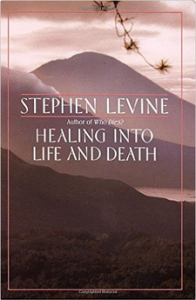 Cover of Stephen Levine's book Healing into Life and Death, source of the solstice meditation