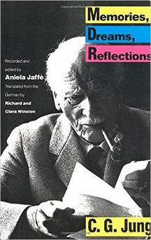Cover of Memories, Dreams, Reflections, by Carl Jung.